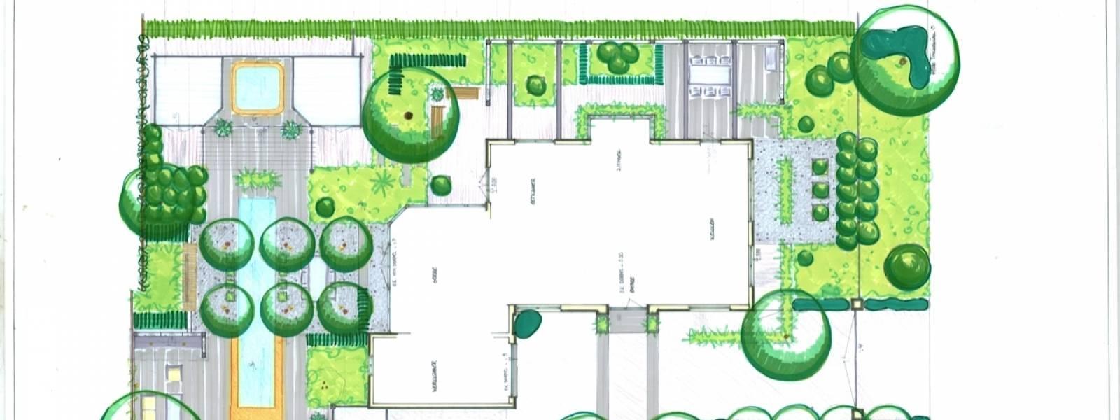 Tuinontwerp van exclusieve tuinen wijsman hoveniers for Wat kost een tuinontwerp