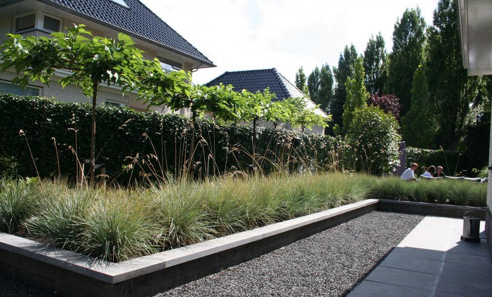 Eigentijdse villatuinen for De eigentijdse tuin
