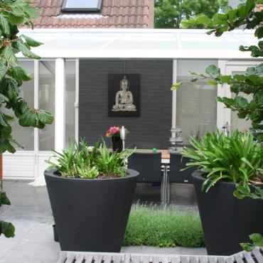 Kleine tuin indelen